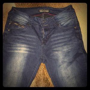 Wallflower jean leggings size 5